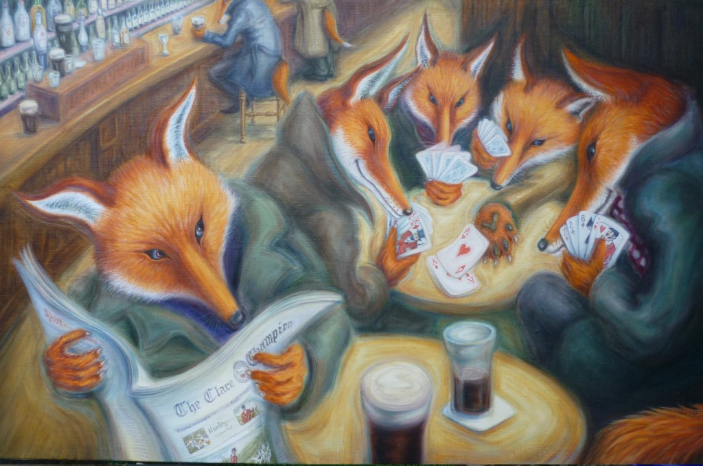 The Foxes Old Game